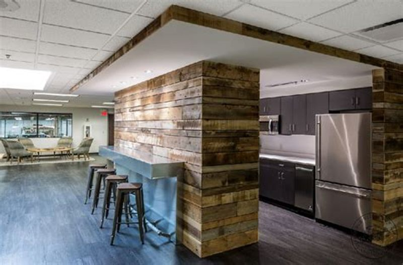 Image of: Fake Wood Paneling Accent Wall