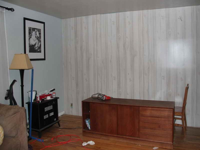 Image of: Fake Wood Paneling Makeover Ideas