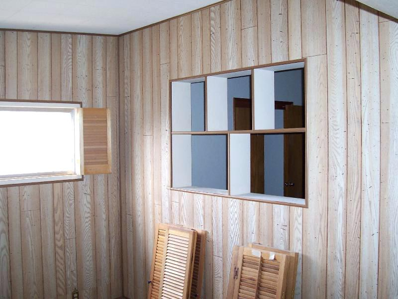 Picture of: Fake Wood Paneling Paint
