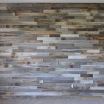 Faux Barn Wood Wall Paneling Design