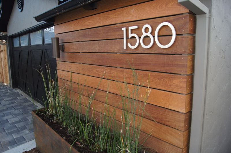 Picture of: Faux Wood Exterior Siding Panels