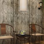 Faux Wood Paneling Picture