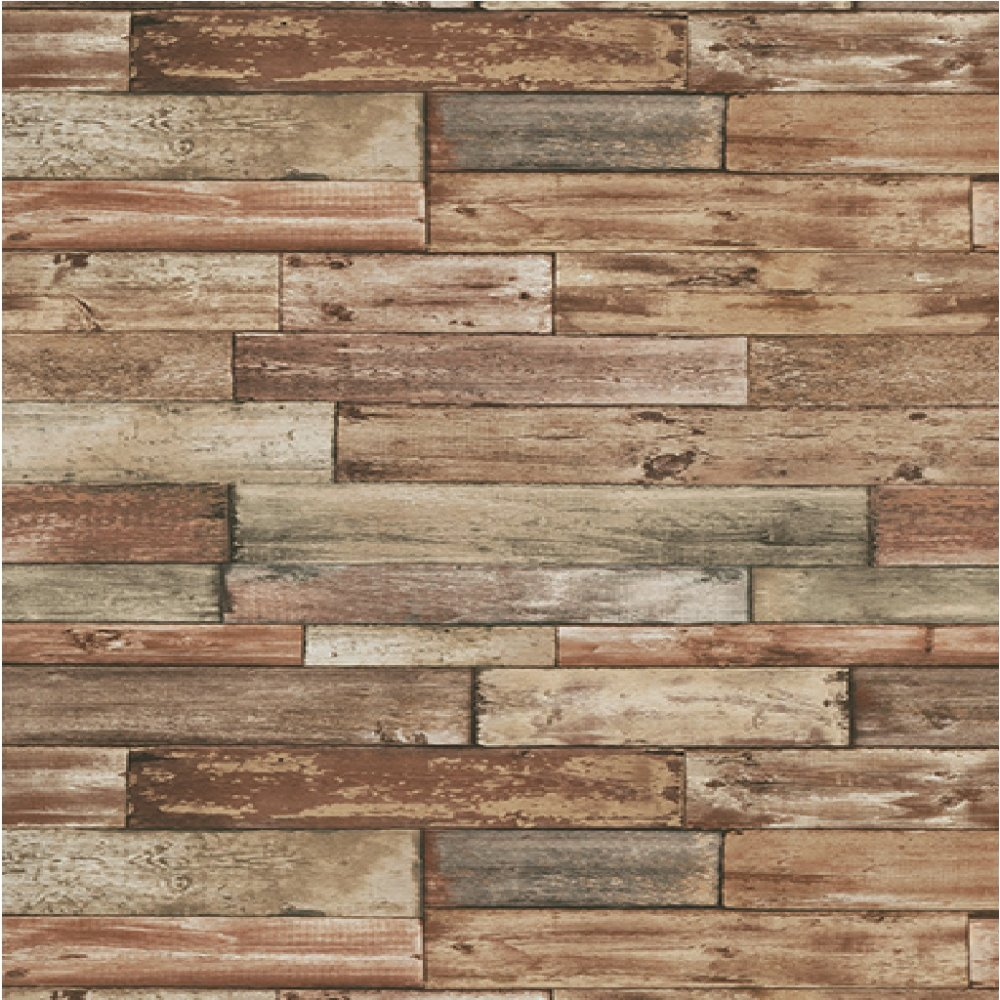 Image of: Faux Wood Panels Effect