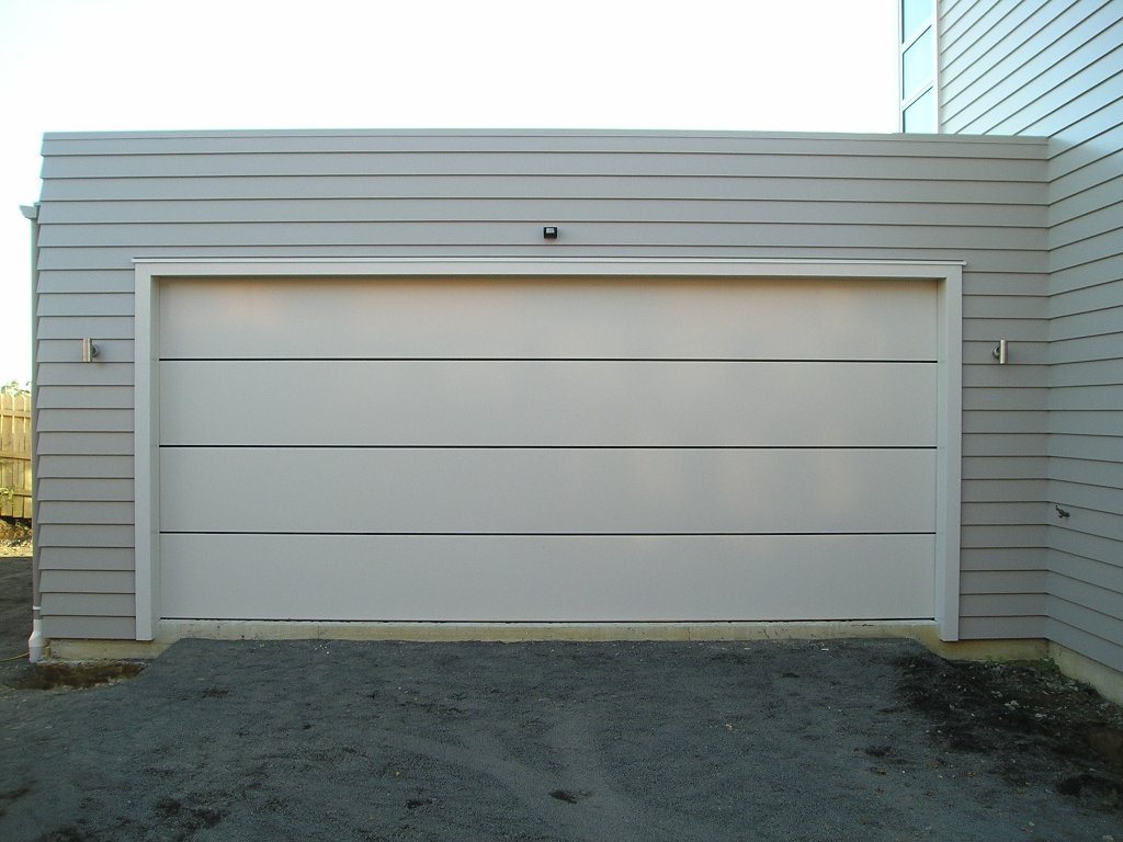Flat Panel Garage Door Models