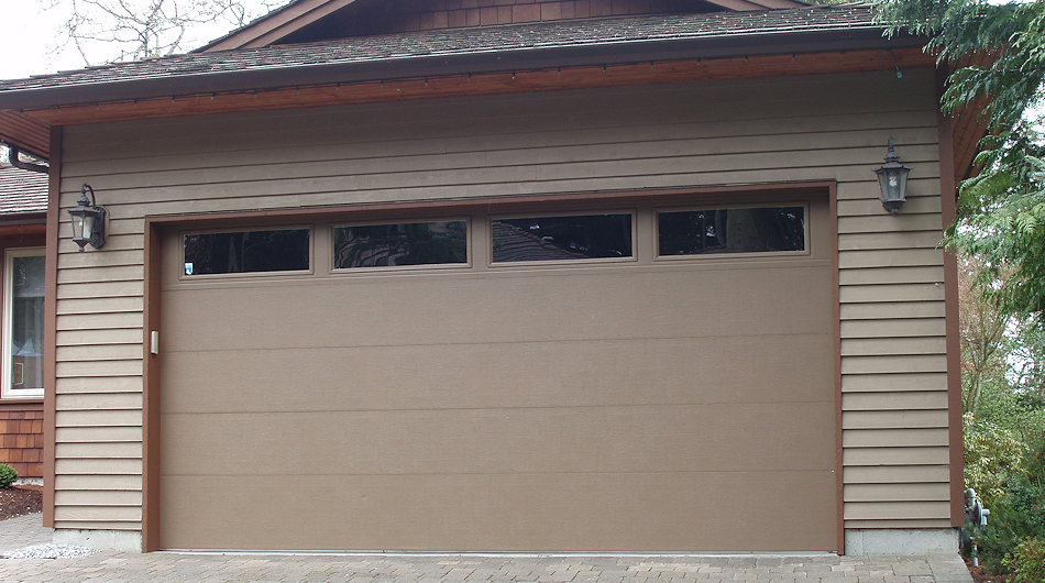 Flat Panel Garage Door Paint