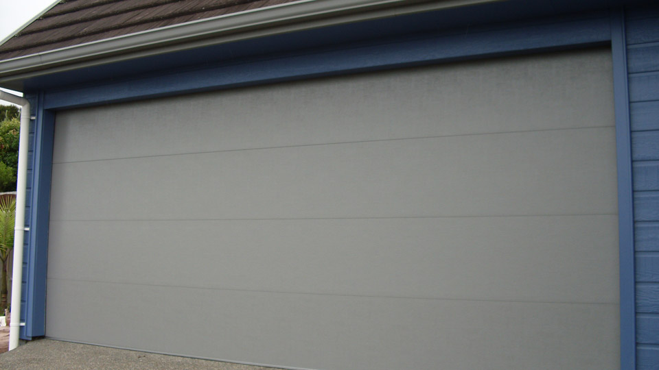 Flat Panel Garage Door And Gates