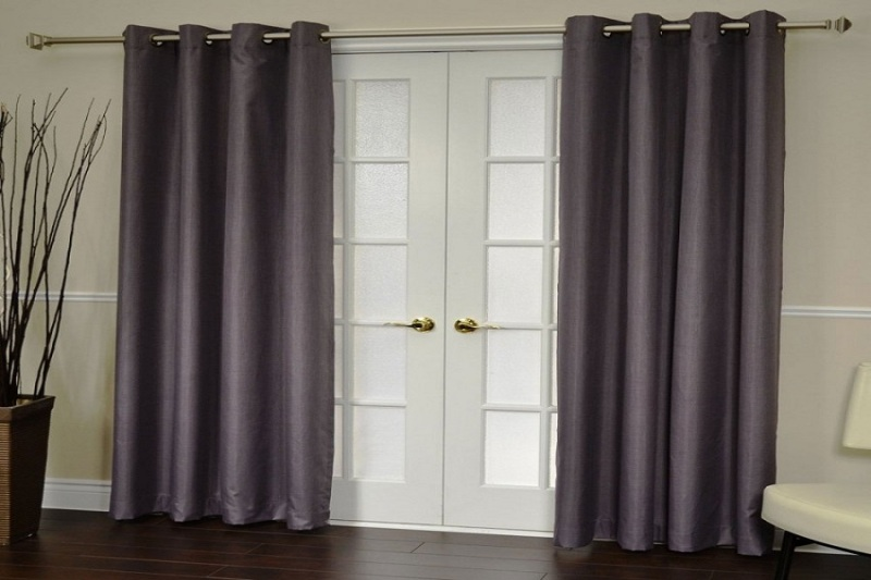 Image of: French Door Curtain Panels