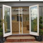 French Door Panels Roll Up