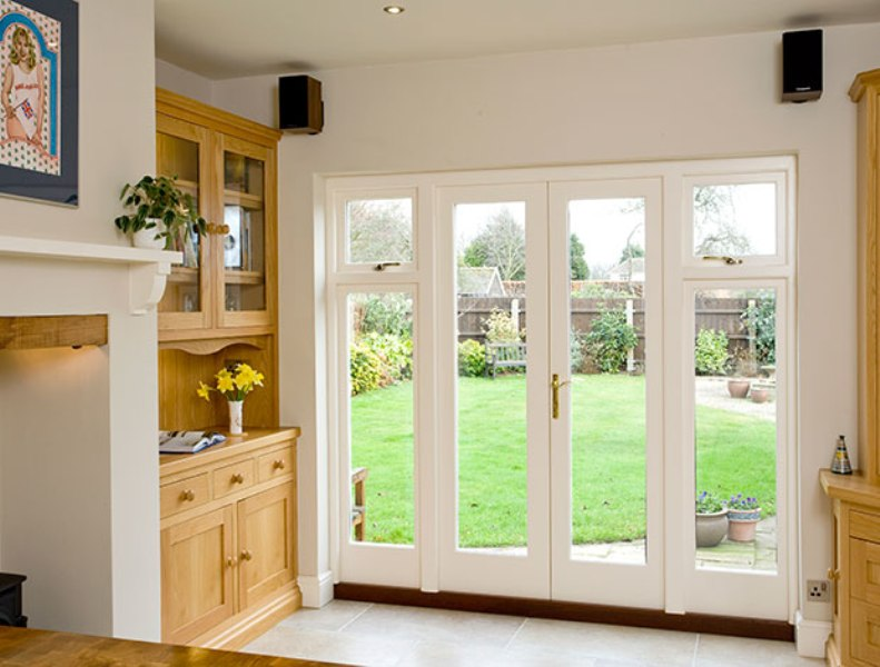 Image of: French Door Side Panels