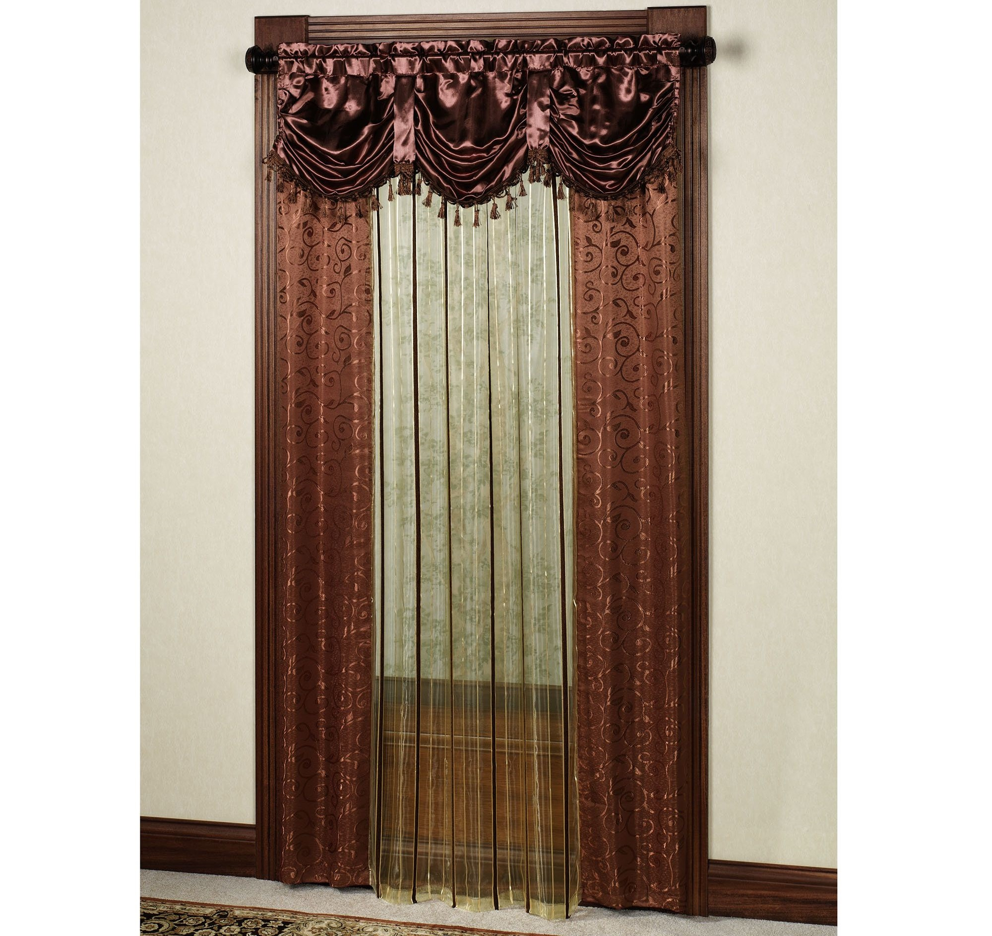 Front Door Panel Curtain