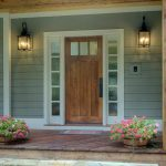 Front Doors with Side Panels Design