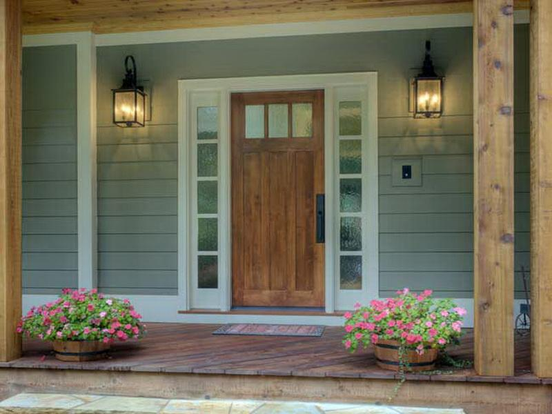 Best Front Doors With Side Panels Design