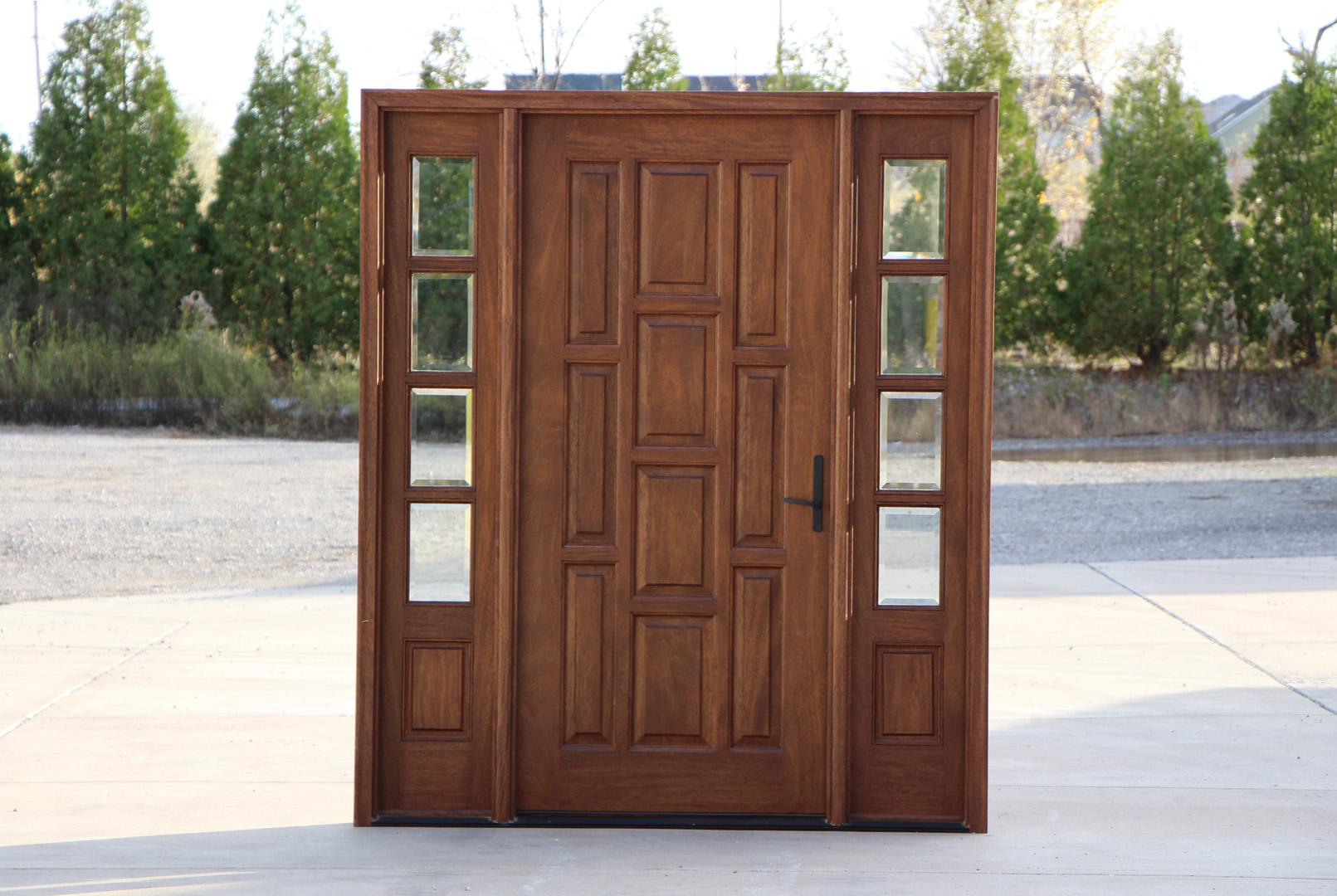 Front Doors With Side Panels Ideas