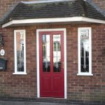 Front Doors with Side Panels Style