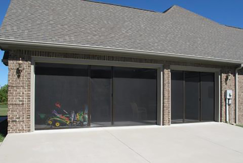 Image of: Garage Screen Door Panels