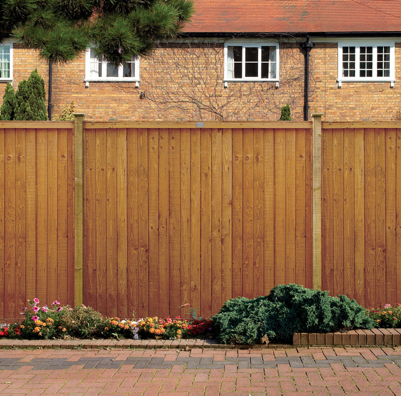 Image of: Good Wood Fencing Panels