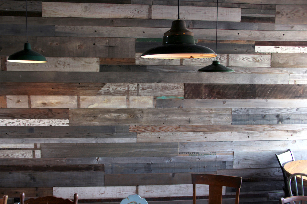 Image of: Gray Wood Paneling Paint