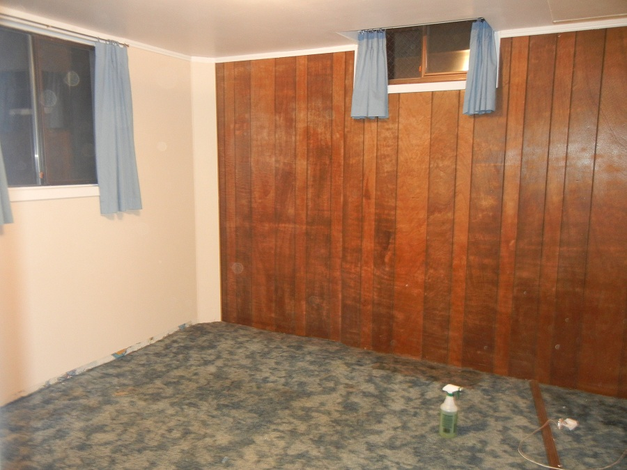 Install Faux Wood Paneling