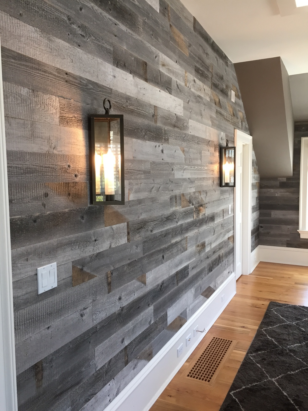 Image of: Instantly Stikwood Adhesive Wood Paneling