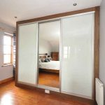 Interior Door With 4 Glass Panels Frosted