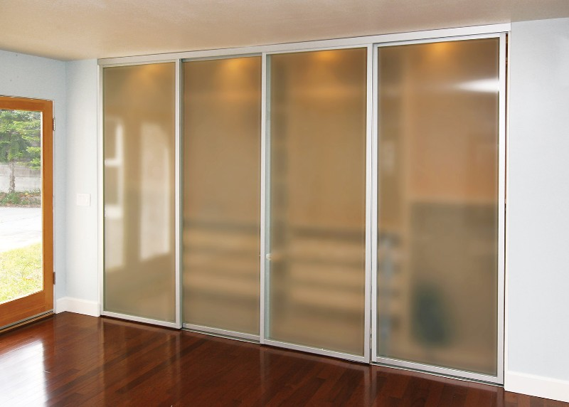 Image of: Interior Door With 4 Glass Panels