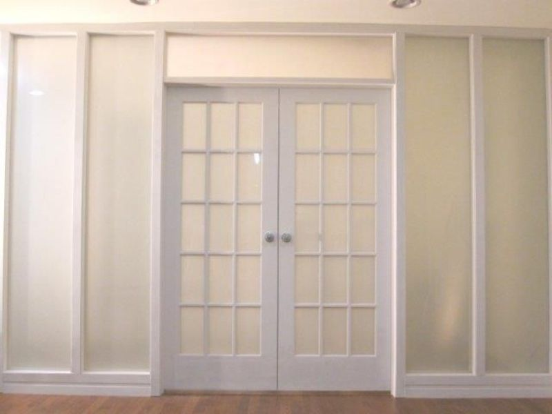Image of: Interior Door With Glass Panels