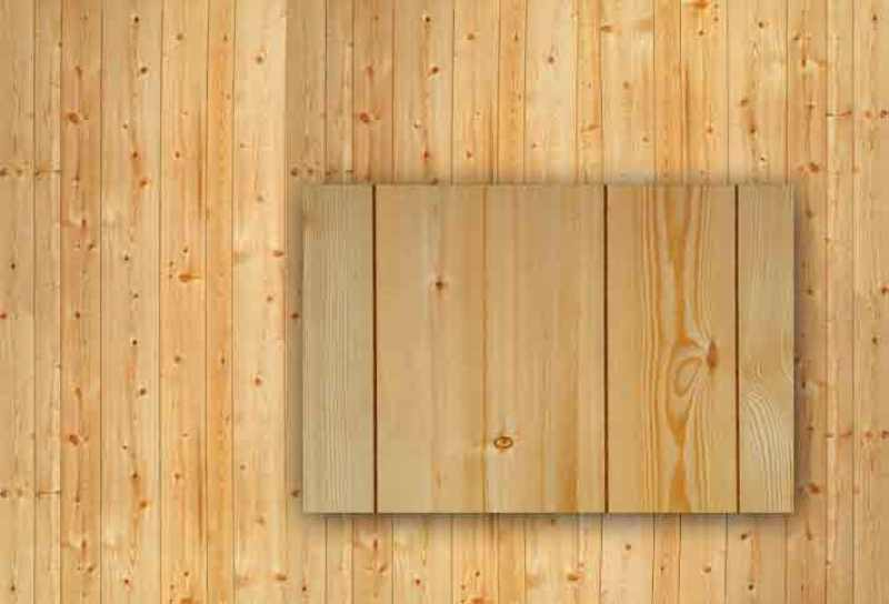 Image of: Interior Rustic Wood Paneling