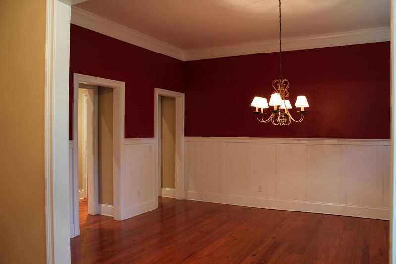 Image of: Interior Wood Paneling Color