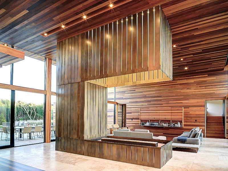 Image of: Interior Wood Paneling Home