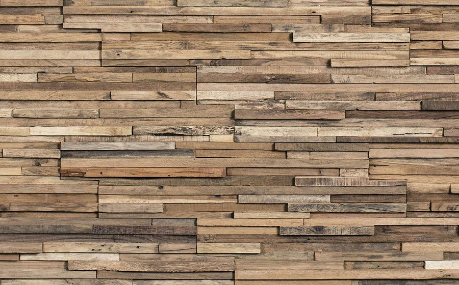 Large Reclaimed Wood Paneling