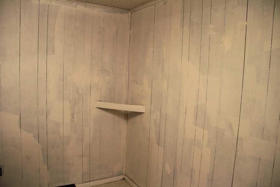 Light Faux Wood Paneling