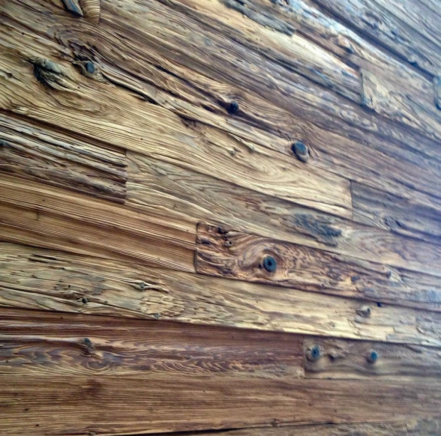 Master Reclaimed Wood Paneling