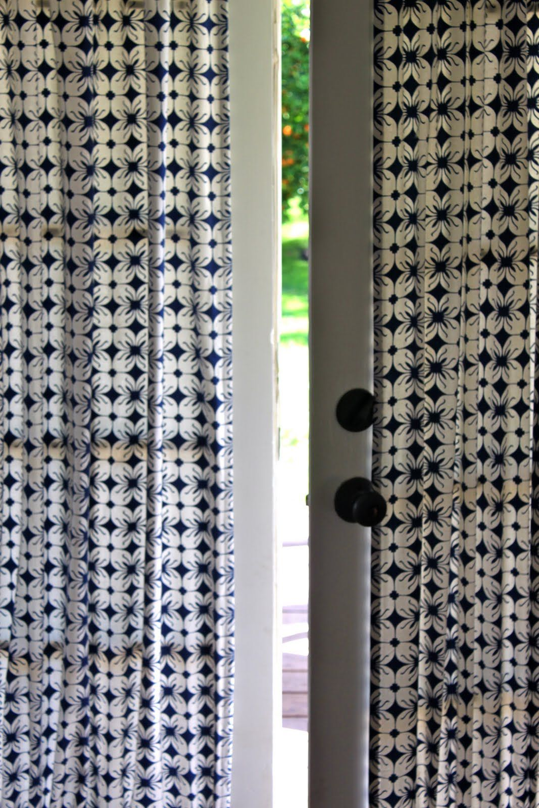 Modern Door Panel Curtain