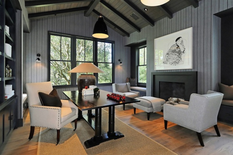 Modern Paint Over Wood Paneling