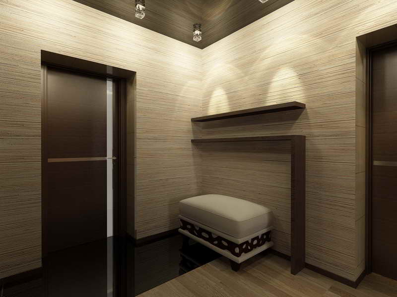 Image of: Modern Wood Interior Wall Paneling