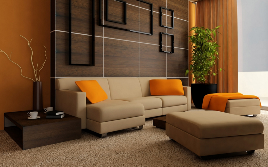 Modern Wood Panel Wall Decor