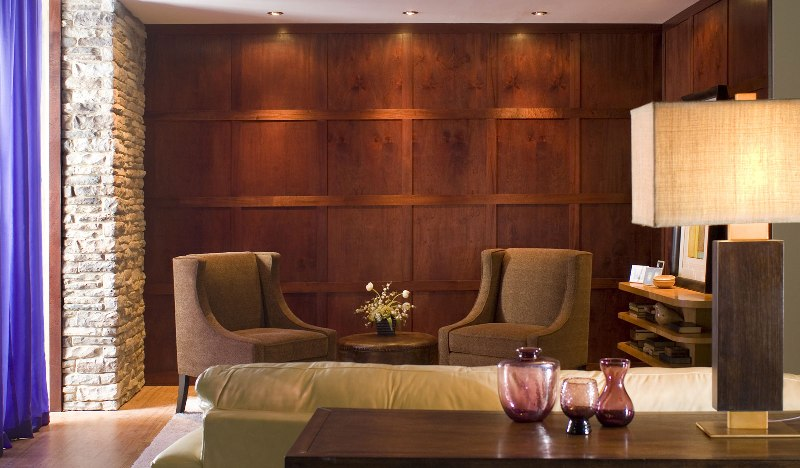 Picture of: Modern Wood Paneling System