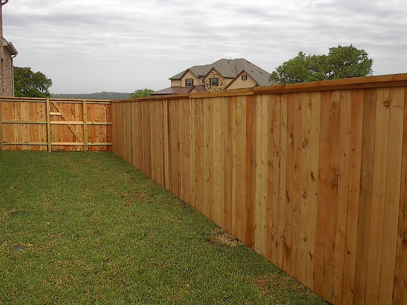 New Cedar Wood Fence Panels
