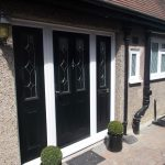 New Front Doors with Side Panels
