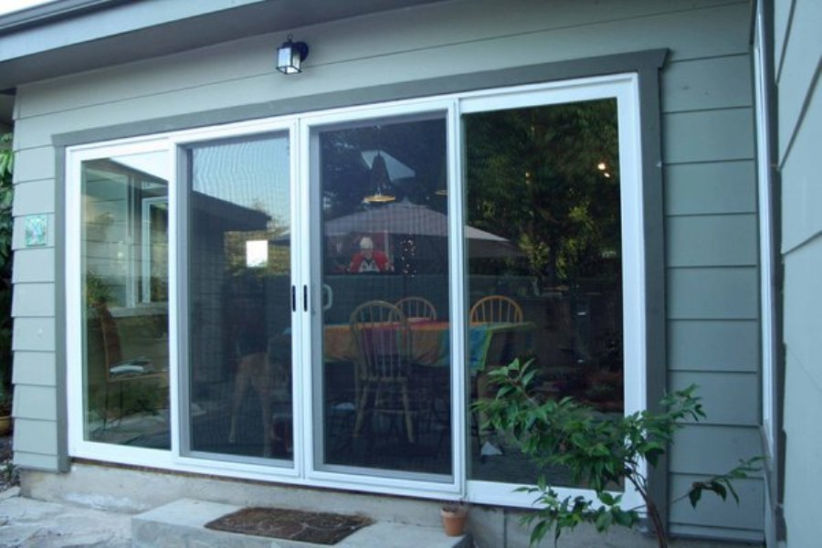 Image of: New Sliding Door Panels Ideas