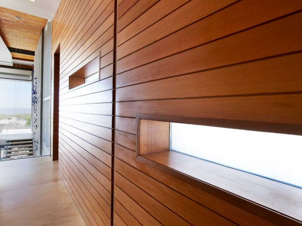 Image of: Oak Wood Interior Wall Paneling