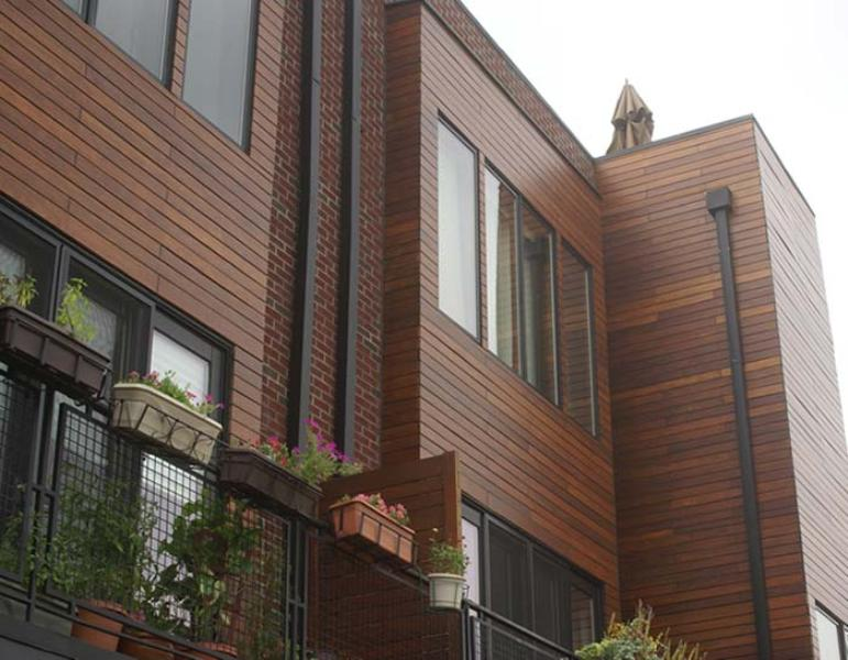 Image of: Outdoor Wood Paneling For Buildings