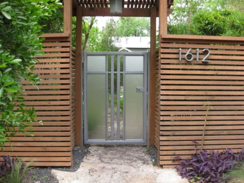 Image of: Outdoor Wood Paneling For Fence