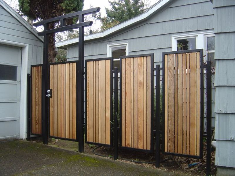 Image of: Outdoor Wood Paneling Ideas
