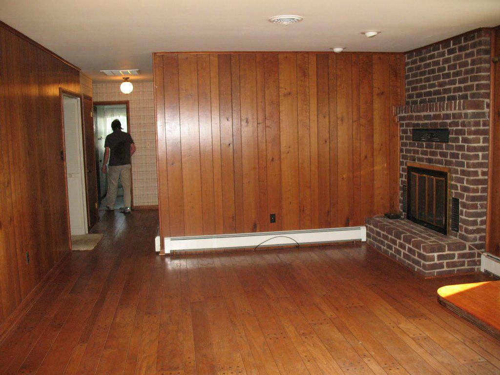 Painted Wood Paneling Ideas