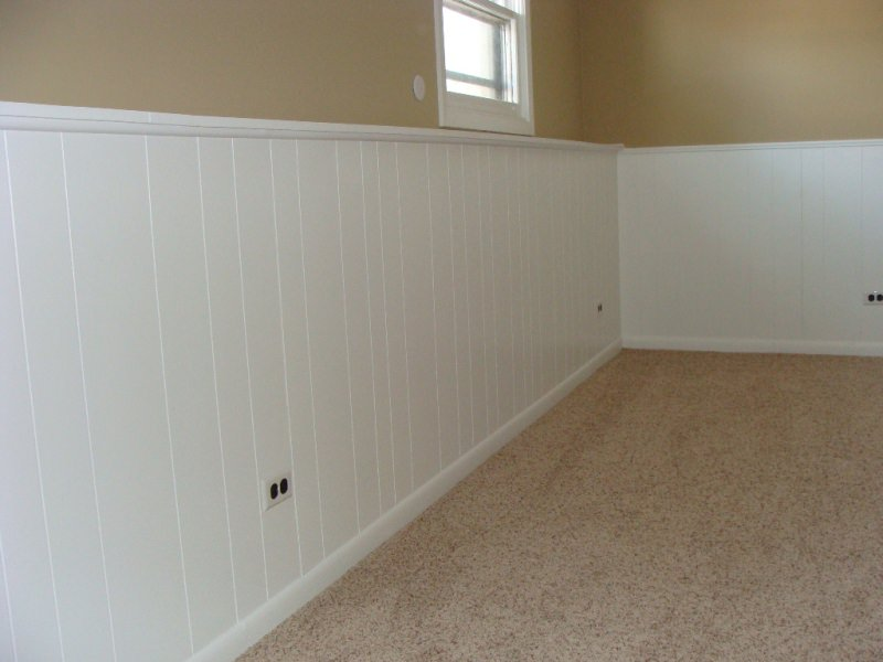 Painting Over Fake Wood Paneling