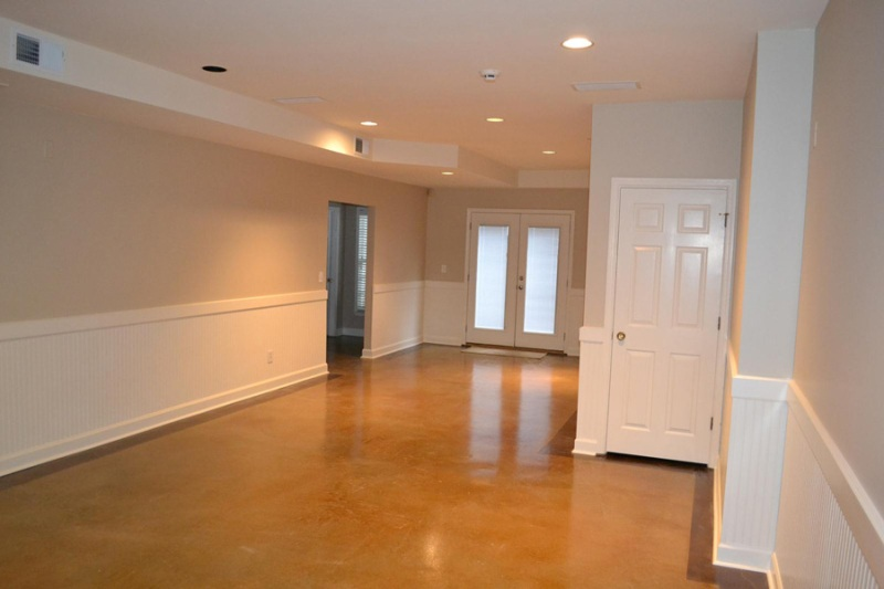 Image of: Painting Over Wood Paneling Basement