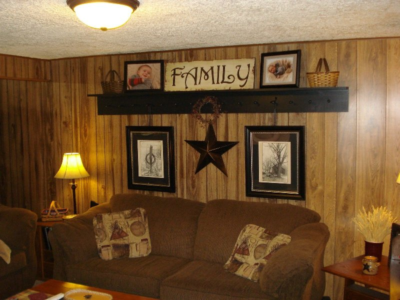 Image of: Painting Over Wood Paneling Before And After Pictures
