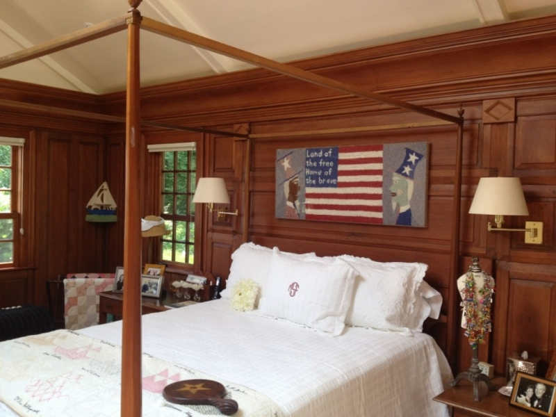 Image of: Painting Over Wood Paneling Before And After