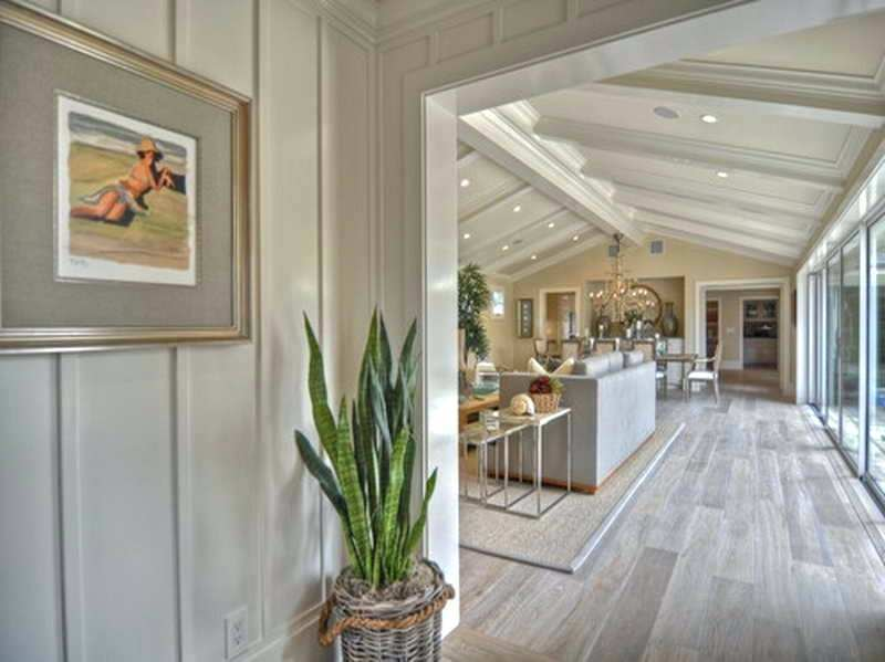 Image of: Painting Over Wood Paneling Image